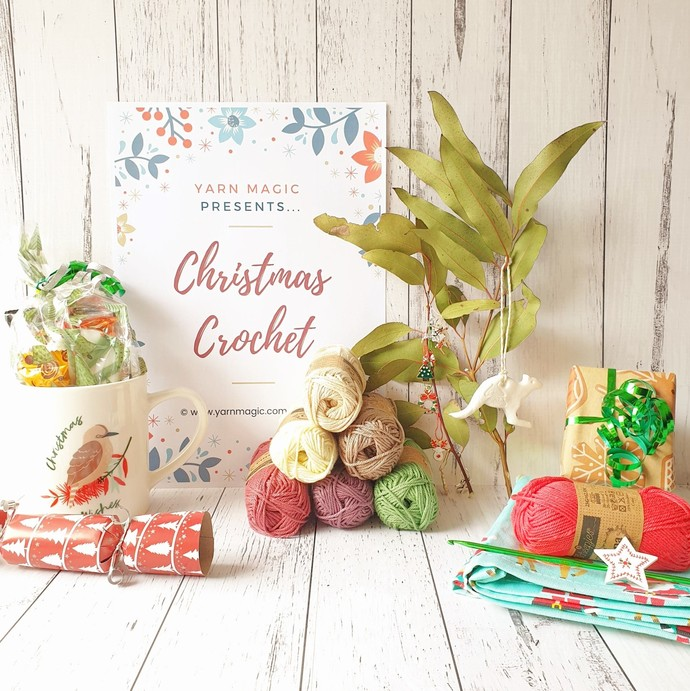 Christmas Crochet: Complete Set - PDF Download Only