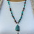 Captivating Ithaka Peak Blue Copper Turquoise Beaded Necklace, Jewelry by