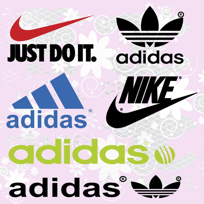 Adidas logo svg, Nike logo svg, Just do it svg svg, fashion shirt logo svg,