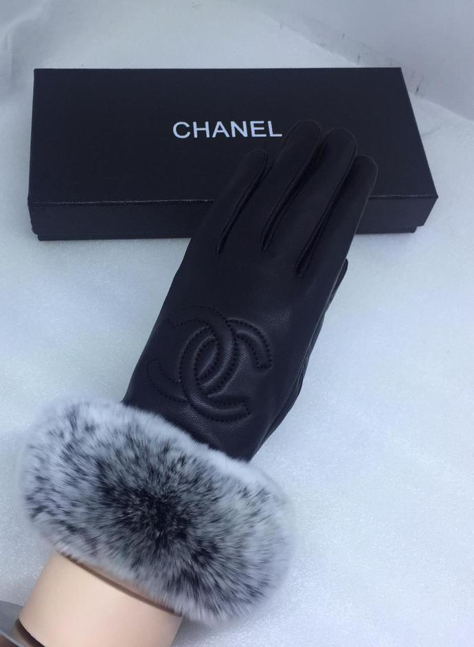 Chanel leather/Fur Gloves diffirent designs