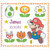 #539 Kid's room Super Mario personalized order Modern Cross Stitch Pattern, game