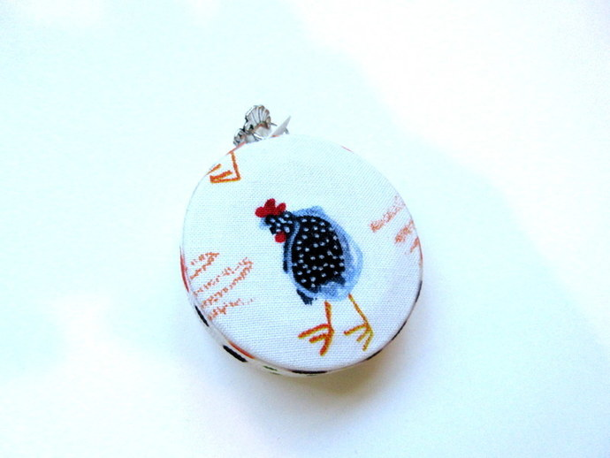 Measuring Tape Country Chickens Small Retractable Pocket Tape Measure
