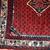 Hand made vintage Persian Hamadan rug 2.4' x 2.6' ( 75cm x 82cm ) 1980 - 1C131
