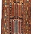 Handmade antique Persian Heriz runner 3.4' x 13.6' ( 105cm x 416cm ) 1930 -