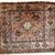 Handmade antique Persian Kurdish bag face 2.6' x 3.1' ( 79m x 95cm) 1930 1C287