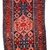 Handmade antique Persian Hamadan runner 3.7' x 9.8' ( 115cm x 300cm ) 1920 -