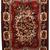 Handmade vintage Persian Bakhtiari rug 3.7' x 4.9' ( 114cm x 152cm ) 1970 -