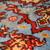 Handmade vintage Persian Tabriz rug 6,4' x 10,2' ( 195cm x 313cm ) 1970 - 1C326