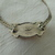 vintage Trifari signed silver red centerpiece choker necklace nos