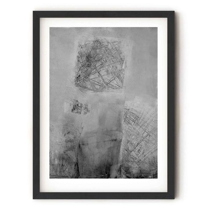 gray Abstract Art, Instant Download, Minimalist Art, Minimalist Painting, Modern