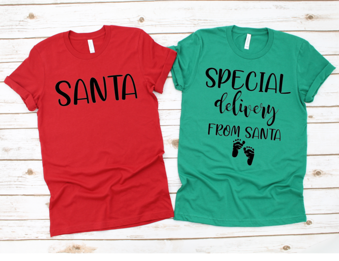 Special Delivery From Santa Shirt, Just Call Me Santa, Pregnancy Announcement