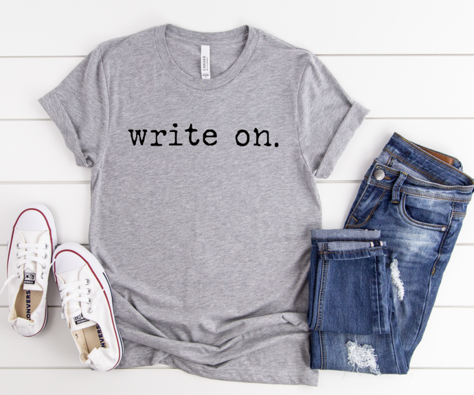 Journalist shirts, Author Gifts, Writers T-Shirt, Novel Writing Eat Sleep Write
