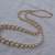 vintage Trifari signed woven pearls necklace gold nos graduated