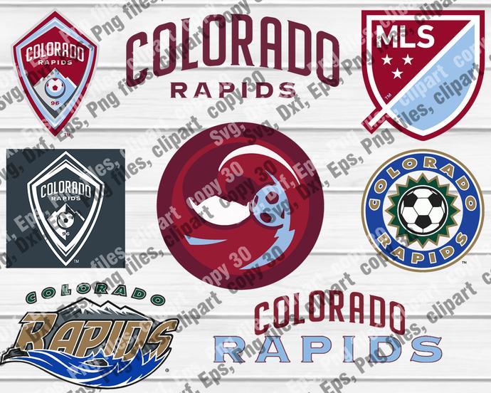 ColoradoRapids, ColoradoRapids svg, ColoradoRapids logo, ColoradoRapids clipart,