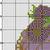 #535 Berry Cupcake Modern Cross Stitch Pattern, Strawberry,  blackberry,