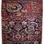 Handmade antique collectible Persian Bidjar Vagireh rug 1.5' x 2' ( 47cm x 61cm