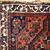 Handmade antique collectible Persian Shiraz bag face 2.9' x 3.1' ( 88cm x 97cm )