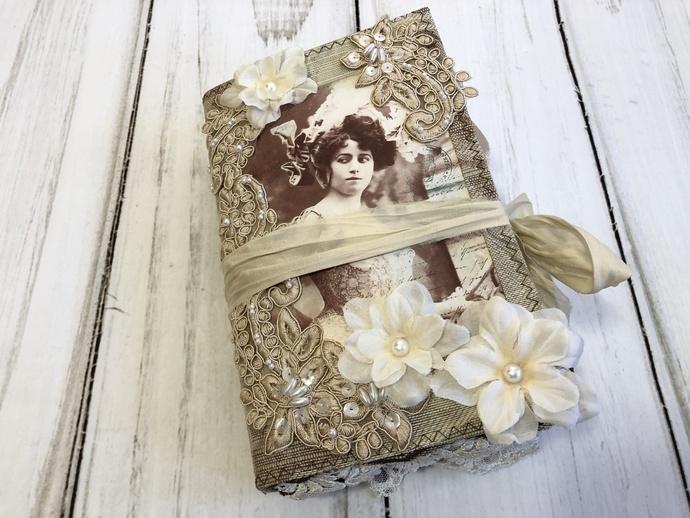 Vintage Ladies #3 Journal by Cathy Trumbley