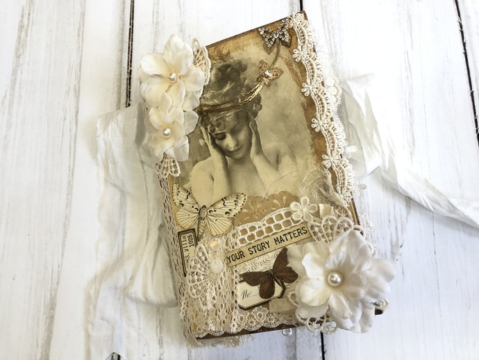 Vintage Ladies and Lace Journal by Cathy Trumbley
