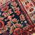 Handmade antique collectible Persian Malayer bag face 1.4' x 1.8' ( 44cm x 55cm