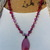 Harmonizing Jewelry, Lovely Pink Agate Necklace, Beaded Necklace, by KnottedUp,