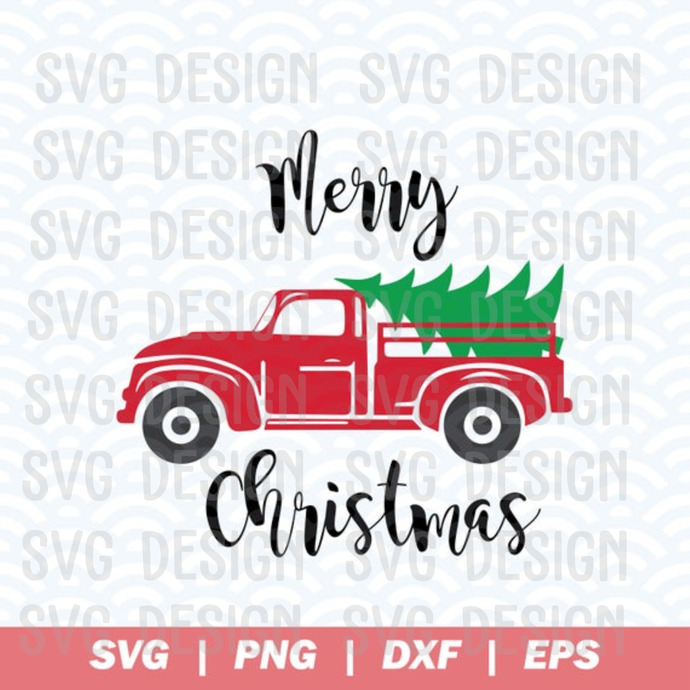 Christmas Truck Svg Merry Christmas Svg By Trump Svg On Zibbet