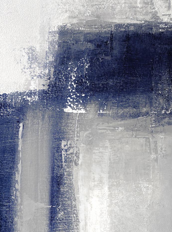 Abstract Painting Print Set of 3, Minimalist Abstract Wall Art Set of 3 Prints,