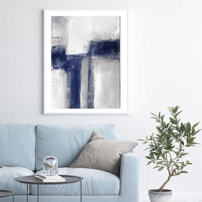 Digitat abstract, contemporary art, modern art, scandinavian abstract, PRINTABLE
