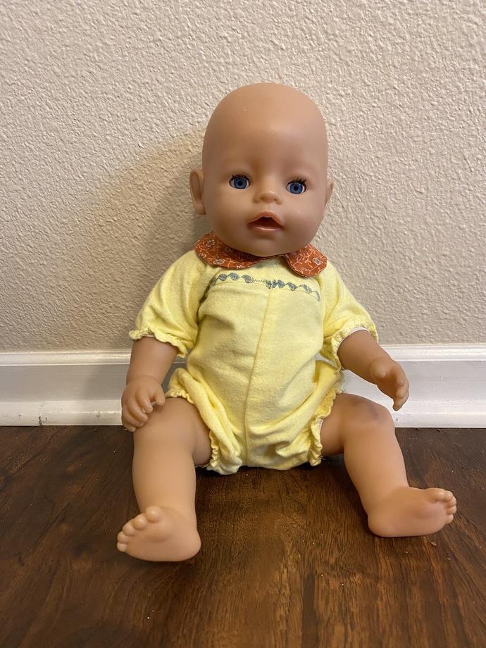 Custom made Bitty Baby Set