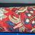 Handmade vintage Persian Tabriz mat 1.5' x 1.7' ( 46cm x 54cm ) 1950s - 1C383
