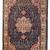 Handmade antique Persian Tabriz rug 6,2' x 9.5' (190cm x 292cm) 1920s - 1C409