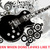 Black Guitar Cross Stitch Pattern***LOOK***X***INSTANT DOWNLOAD***