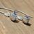 Herkimer Diamond Earrings, Dangle Drop Earrings, Petite earrings, dainty