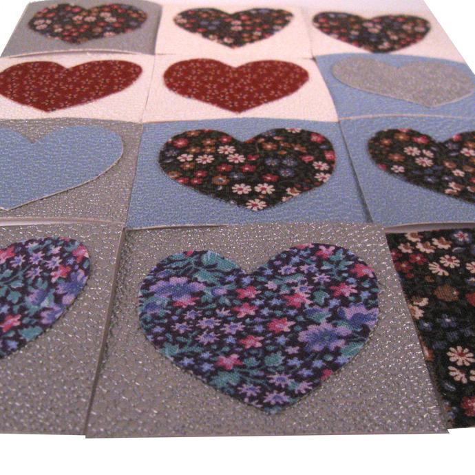 Heart Mini Blank Note Cards