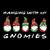 Hanging With My Gnomies PNG, Christtmas PNG, Three Gnomes shirt, Digital