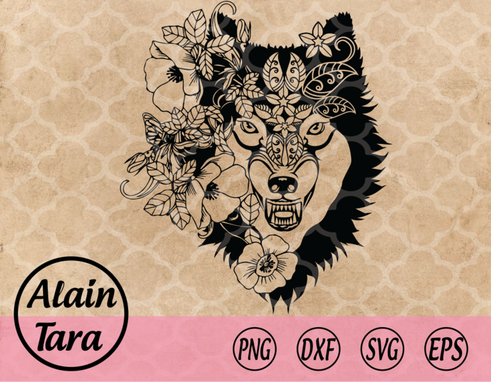 Wolf svg,Wolf,Dog svg,The Wolf svg