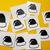 Set of 20 Chrismas hats decal! Laptop Decal.