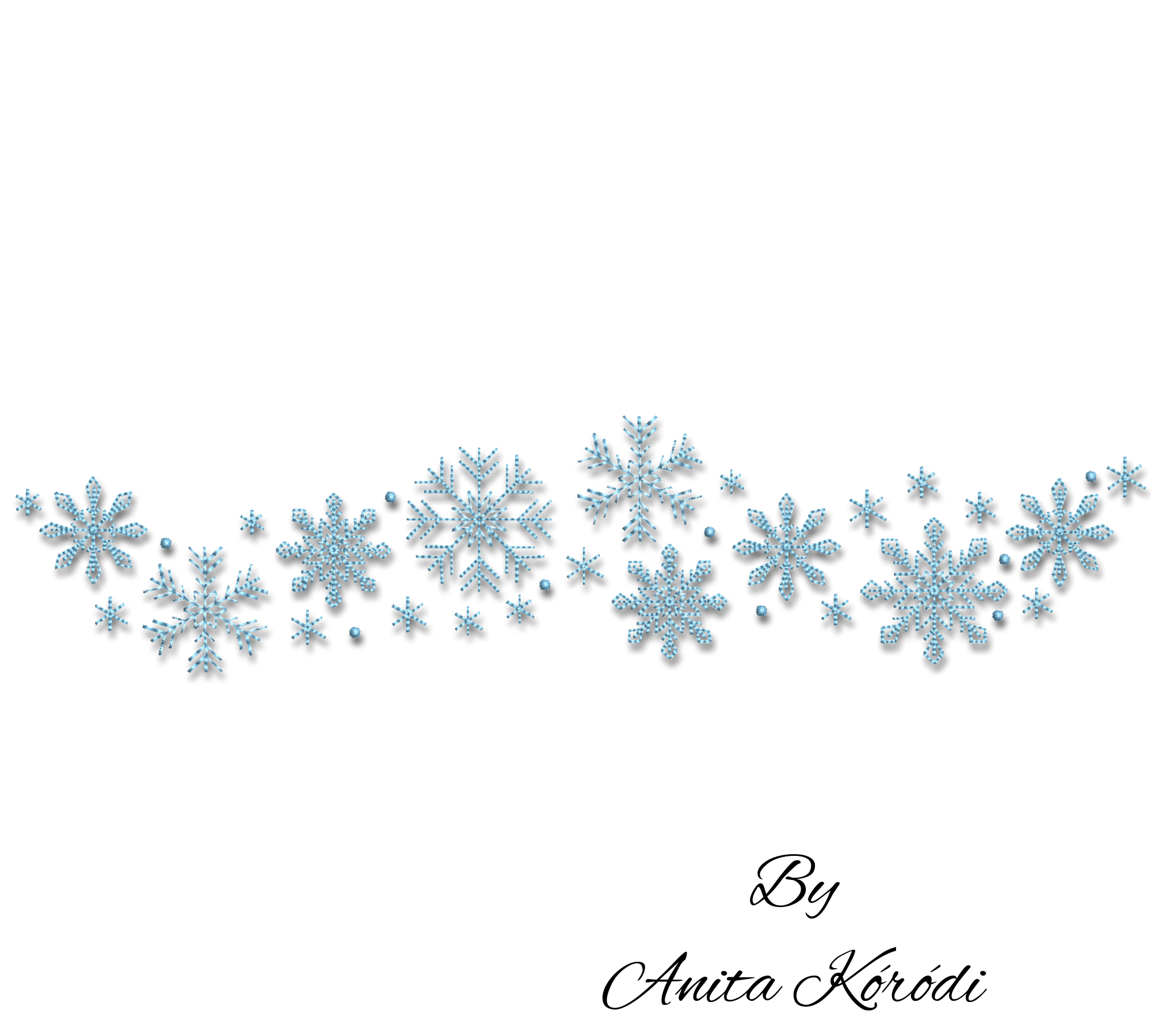 Snowflakes embroidery machine designs winter pes digital instant download