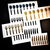 Set of 30 Silverware, Fork, Knife, Spoon, Kitchen Decor, Kitchen Decal,