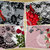 Roses and Lace Printable Papers, Junk Journal, Scrapbook