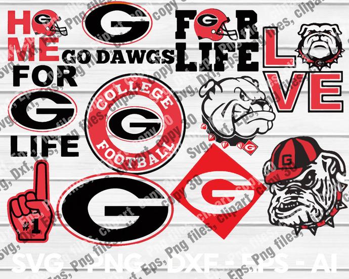 GeorgiaBulldogs, GeorgiaBulldogs svg, GeorgiaBulldogs logo, GeorgiaBulldogs