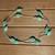 Green Kunzite Long Silver Necklace, Gem Necklace, Long Boho Necklace, Jewelry