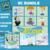 The Jetsons SC & Mini C2C Build a Block Bundle includes graphs with color block