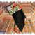 Harry Potter Hufflepuff Christmas Stocking Handmade fleece & cotton for