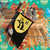 Harry Potter Hufflepuff Christmas Stocking Handmade fleece & cotton for