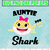 Auntie Shark Character SVG layered and images -PNG -dxf files- Silhouettes