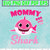 Mommy Shark Do do do Character SVG layered and images -PNG -dxf files-