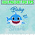 Baby Shark do do do Character SVG layered and images -PNG -dxf files-