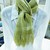 Hand Woven Scarf – Falkland Merino Wool Eco / Natural Dip Dyed With Privet -