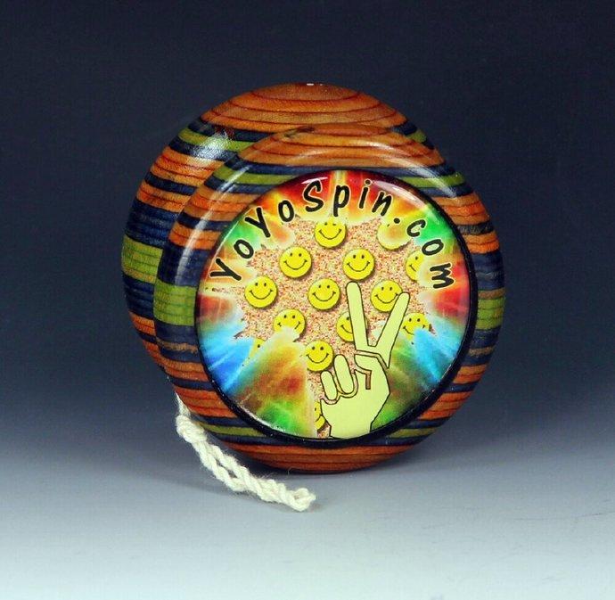 "Vintage Tom Kuhn/BC ""Lightning"" - Butterfly Mod Yo-Yo, by YoYoSpin"